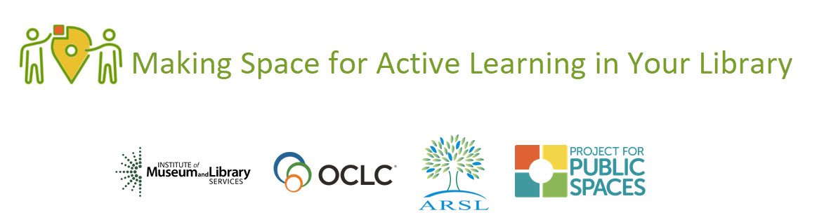 Making Space for Active Learning in Your Library Logo and project partners